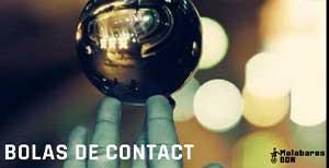 Bolas de contacto de cristal