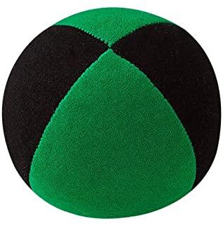 Jonglierbälle - Pelota de Malabares (62 mm), Color Negro y Verde