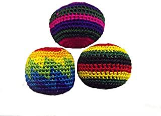 One World is Enough Juego de 3 Bolas de Malabares Coloridas Principiantes y de Pro (los Colores S...